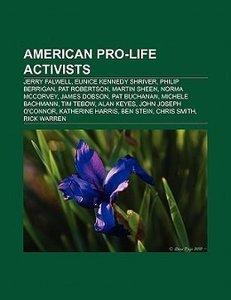 American pro-life activists