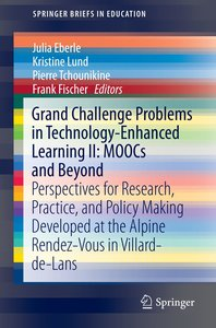 Grand Challenges in Technology Enhanced Learning 2