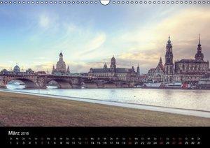 Dresden Altstadt (Wandkalender 2016 DIN A3 quer)