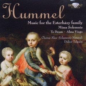 Hummel: Te Deum,Missa Solemnis & Alma Virgo