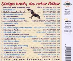 Steig Hoch,Du Roter Adler