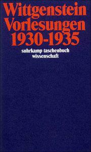Vorlesungen 1930 - 1935