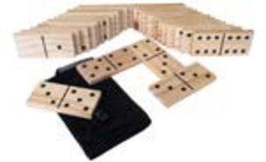 Invento 390044 - Jumbo Domino, Garten Domino, 28 teilig, 13 x 6