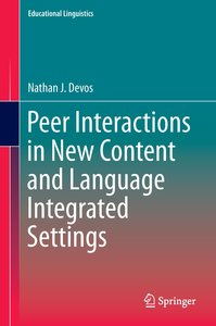 Peer Interactions in New Content and Language Integrated Setting