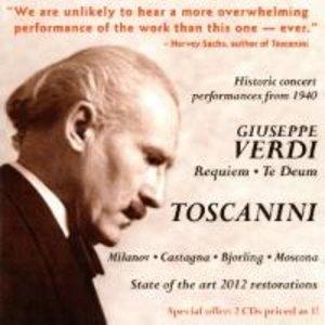 A.Toscanini dirigiert-Verdi Requiem/Te Deum