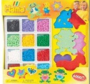 Hama 3058 - Geschenkpackung mit bunten Platten
