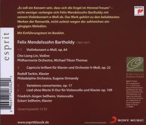 Esprit/Mendelssohn-Violinkonzert,Capriccio br