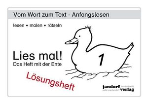Wachendorf, P: Lies mal! Heft 1. Lös.