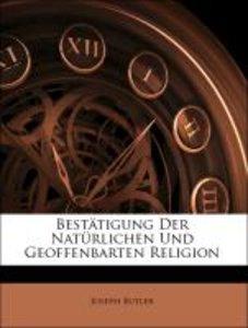 Bestätigung der natürlichen und geoffenbarten Religion.