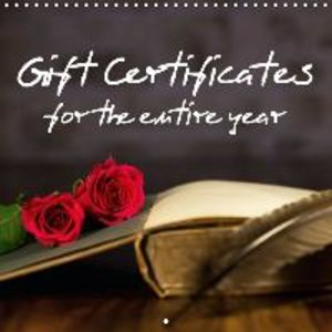 Gift certificates for the entire year (Wall Calendar 2015 300 ×