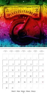 Rust in a new light (Wall Calendar 2015 300 × 300 mm Square)