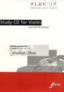 Study-CD Violin - Schüler-Konzert Nr.1,G-Dur,op.13