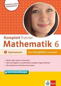 KomplettTrainer Mathematik 6. Klasse Gymnasium