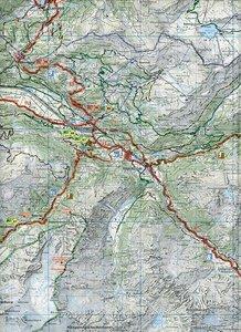 KuF Schweiz Radkarte 22 Berner Oberland Ost 1 : 60.000