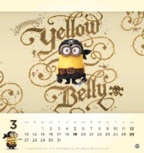 minions postkartenkalender 2017