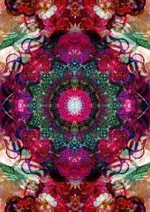 Floral Symmetrics (Poster Book DIN A3 Portrait)