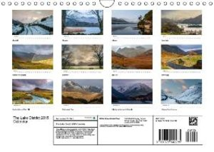 The Lake District 2015 Calendar (Wall Calendar 2015 DIN A4 Lands