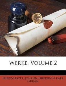 Hippokrates Werke, zweyter Band