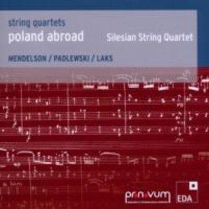 Poland Abroad vol.3:String Quartets