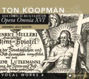 Opera Omnia XVI-Vocal Works 6: Membra Jesu Nostr