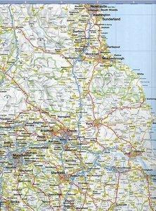 Busche Map Great Britain / Ireland