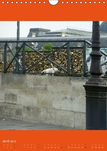 Paris et ses animaux (Calendrier mural 2015 DIN A4 vertical)