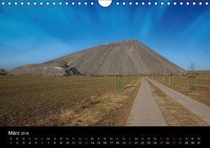 Schachtanlagen in Mansfeld Südharz (Wandkalender 2016 DIN A4 que