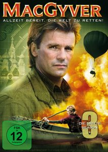 MacGyver - Season 3 (5 Discs, Multibox)