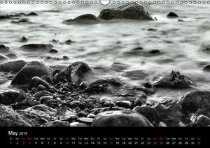 Black and White Nature (Wall Calendar 2015 DIN A3 Landscape)