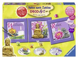 Ravensburger 28970 - Buddha - Malen nach Zahlen - zum Schließen ins Bild klicken