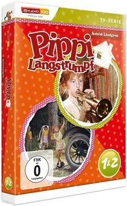Pippi Langstrumpf 1 und 2 TV-Serie. DVD