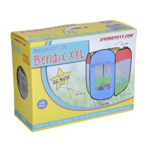 Knorrtoys 55300 - Zelt: Bendix mit 100 Bällen