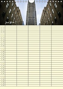 New York Familienplaner (Wandkalender 2016 DIN A4 hoch)