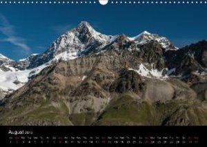 Valais Alps (Wall Calendar 2015 DIN A3 Landscape)