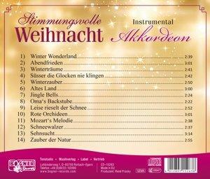 Stimmungsvolle Weihnacht 3-Akkordeon