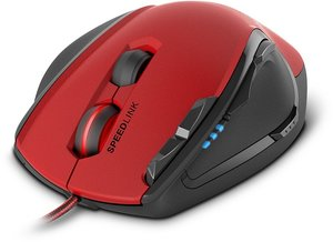 PRIME Z-DW Gaming Mouse, red