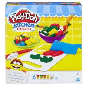 Hasbro B9012EU4 Play-Doh Schnippel- und Servierset