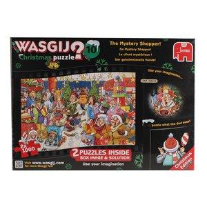 Wasgij Christmas 10 - Der geheimnisvolle Kunde - 2 x 1000 Teile