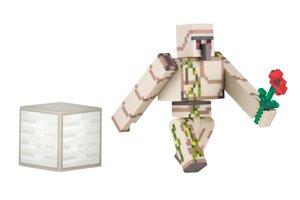 Minecraft - IRON GOLEM mit Eisenerz-Block, bewegliche Sammelfigu