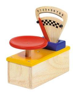 Goki 51806 - Waage für Kaufmannsladen, Holz
