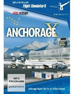 Flight Simulator X - Anchorage X