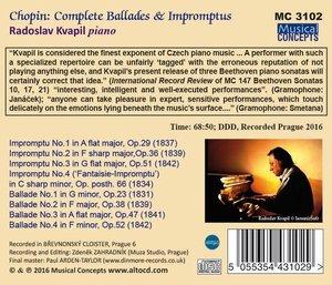 Balladen & Impromptus