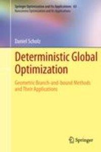 Deterministic Global Optimization