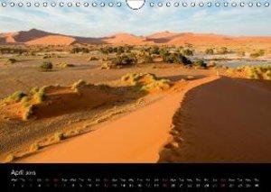 Landscapes of Namibia / UK-Version (Wall Calendar 2015 DIN A4 La