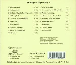 TÜBINGER GOGENWITZE