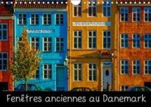 Fenêtres anciennes au Danemark (Calendrier mural 2015 DIN A4 hor