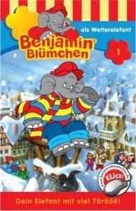 Benjamin Blümchen 001 als Wetterelefant. Cassette