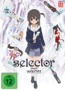 Selector Spread Wixoss - DVD Box 1 + Sammelschuber