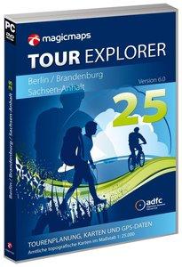 Tour Explorer Berlin / Brandenburg / Sachsen-Anhalt 1 : 25 000.