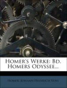 Homer's Werke: zweiter Band